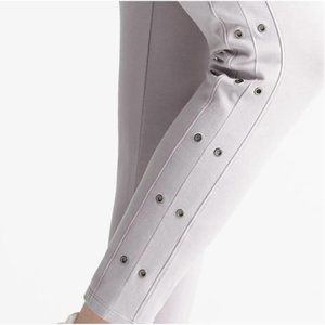 Yummie Compact Cotton Ankle Legging With Grommets